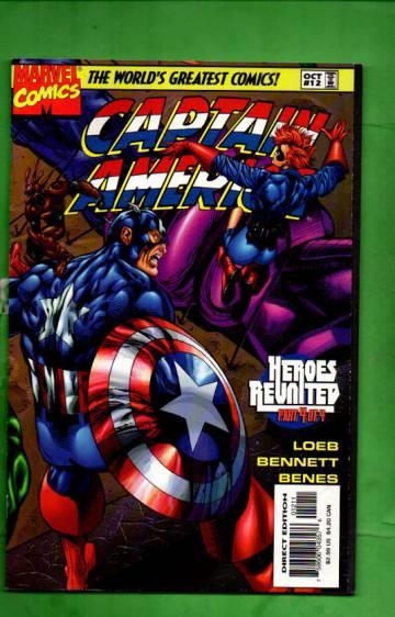 Captain America Vol. 2 #12 Oct 97