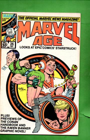 Marvel Age Vol. 1 #26 May 85