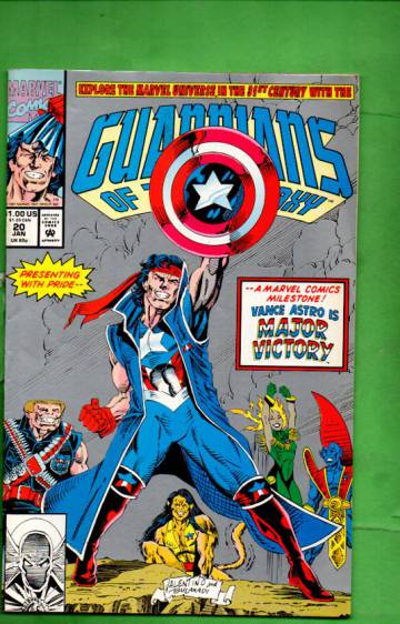 Guardians of the Galaxy Vol. 1 #20 Jan 92