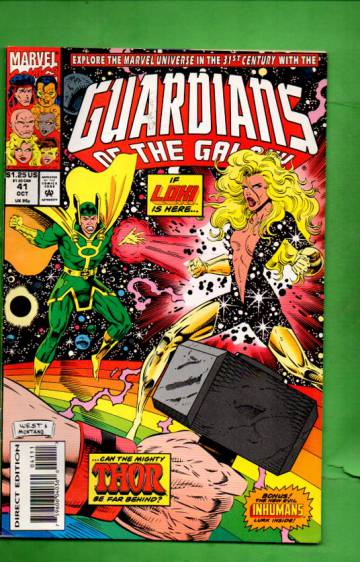 Guardians of the Galaxy Vol. 1 #41 Oct 93