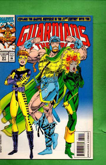 Guardians of the Galaxy Vol. 1 #51 Aug 94