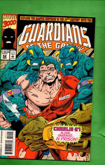 Guardians of the Galaxy Vol. 1 #52 Sep 94