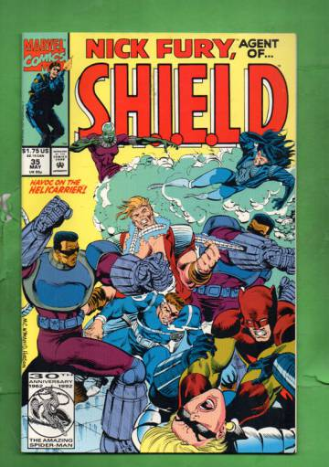 Nick Fury, Agent of S.H.I.E.L.D. Vol. 2 #35 May 92