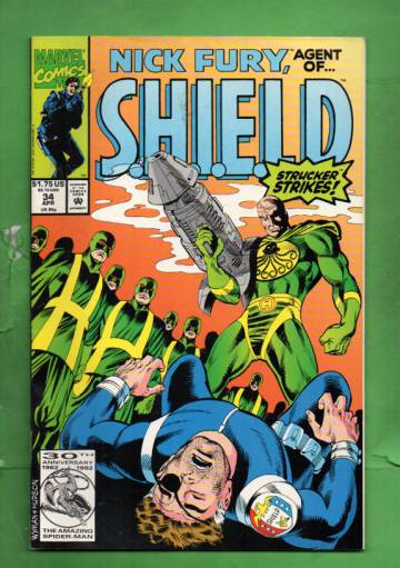 Nick Fury, Agent of S.H.I.E.L.D. Vol. 2 #34 Apr 92
