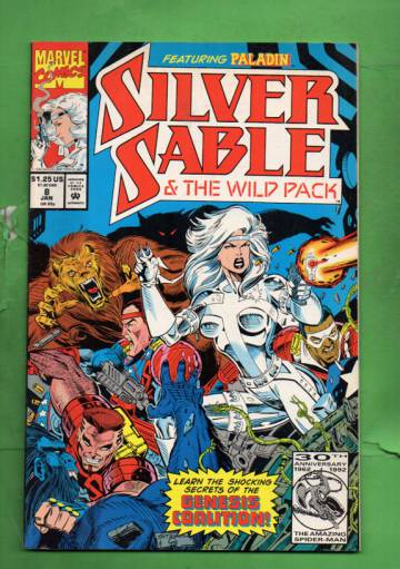 Silver Sable Vol 1 #8 Jan 93