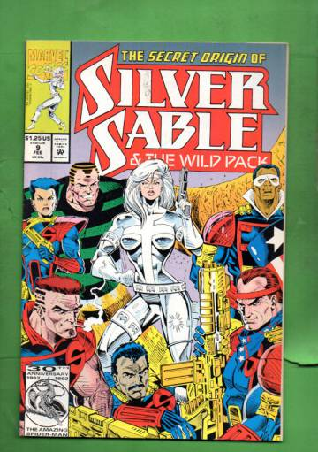 Silver Sable Vol 1 #9 Feb 93