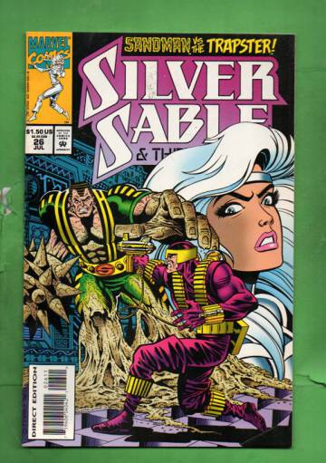 Silver Sable and the Wild Pack Vol. 1 #26 Jul 94