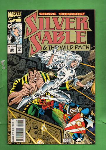 Silver Sable Vol 1 #29 Oct 94
