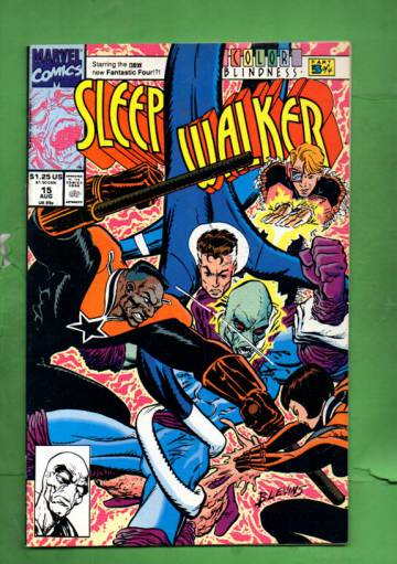 Sleepwalker Vol. 1 #15 Aug 92