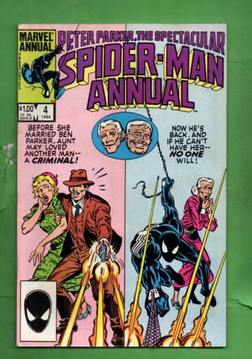 Peter Parker, the Spectacular Spider-Man Annual Vol. 1 #4 Nov 84