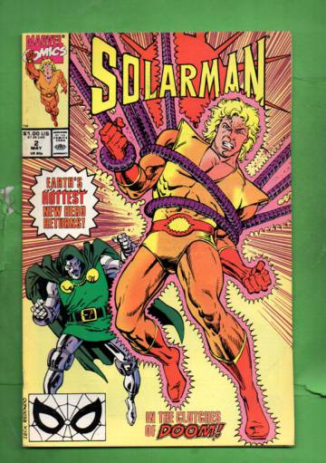 Solarman Vol. 1 #2 May 90
