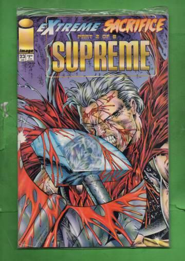 Supreme Vol. 2 #23 Jan 95 (avaamaton pakkaus, sisältää kortit)