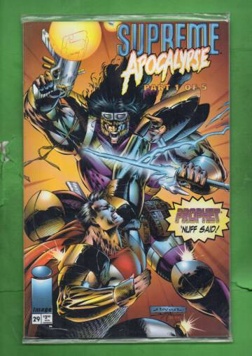 Supreme Vol. 2 #29 Jun 95 (avaamaton pakkaus, sisältää kortin)
