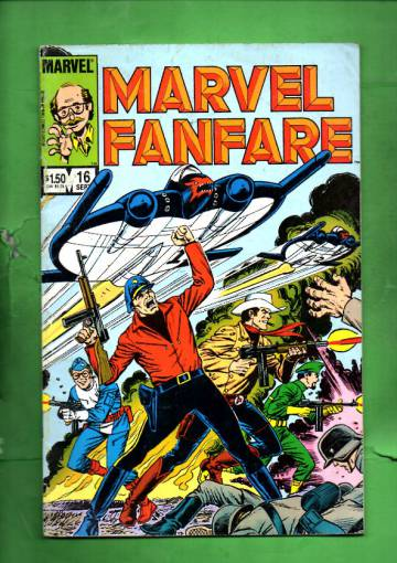 Marvel Fanfare Vol. 1 #16 Sep 84
