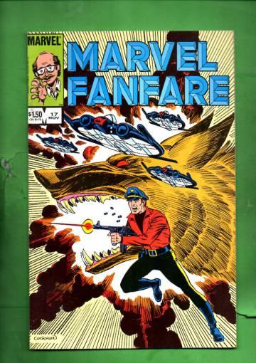 Marvel Fanfare Vol. 1 #17 Nov 84