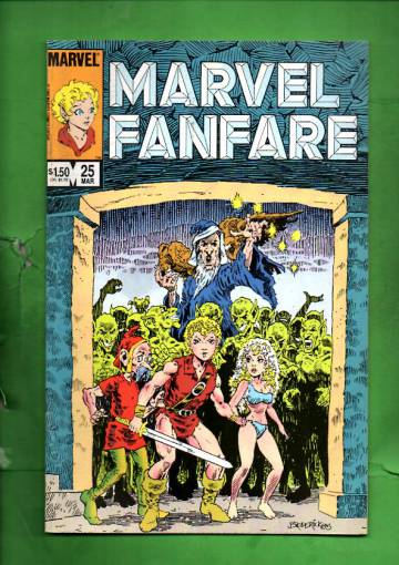Marvel Fanfare Vol. 1 #25 Mar 86
