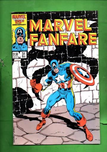 Marvel Fanfare Vol. 1 #31 Mar 87
