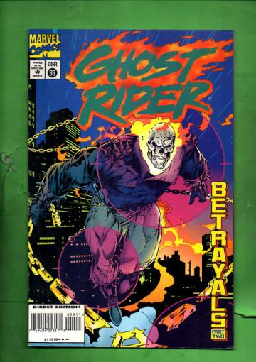 Ghost Rider Vol 2 #59 Mar 95