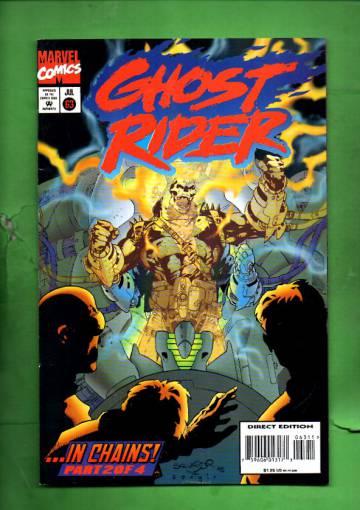 Ghost Rider Vol 2 #63 Jul 95
