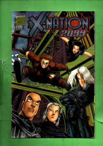 X-Nation 2099 Vol.1 #1 Mar 96