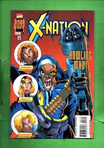 X-Nation 2099 Vol.1 #3 May 96