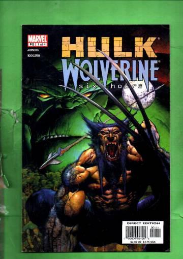 Hulk /Wolverine: Six Hours Vol 1 #1 Mar 03
