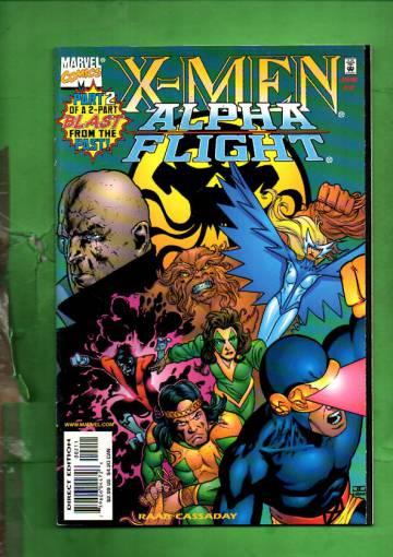 X-Men/ Alpha Flight Vol. 1 # 2 Jun 98