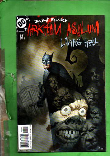 Arkham Asylum: Living Hell #1 Jul 03
