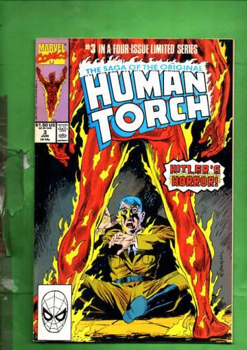 Saga of the Original Human Torch Vol. 1 #3 Jun 90