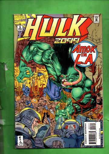 Hulk 2099 Vol. 1 #3 Feb 95