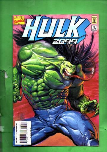 Hulk 2099 Vol. 1 #5 Apr 95