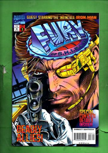 Fury of S.H.I.E.L.D. Vol. 1 #3 Jun 95