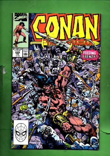 Conan the Barbarian Vol. 1 #229 Feb 90