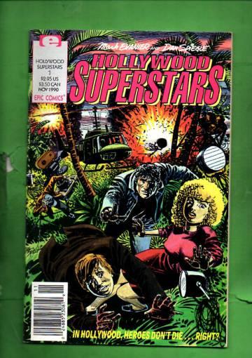 Hollywood Superstars Vol. 1 #1 Nov 90