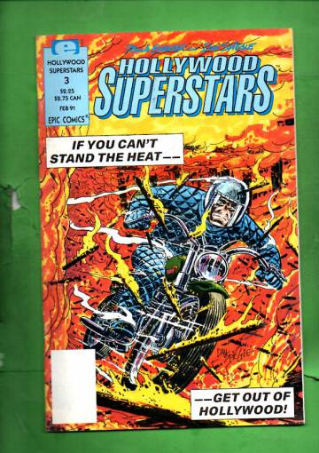 Hollywood Superstars Vol. 1 #3 Feb 91