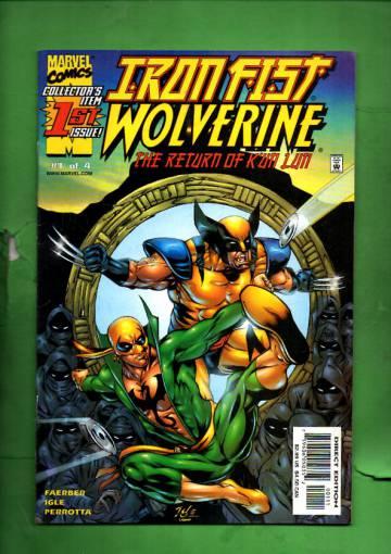 Iron Fist /Wolverine Vol 1 #1 Nov 00
