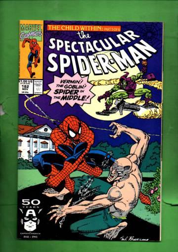 Spectacular Spider-Man Vol 1 #182 Nov 91