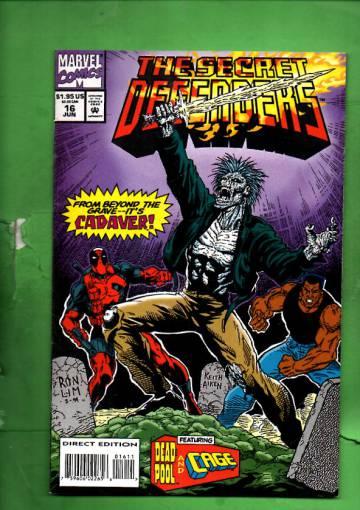 Secret Defenders Vol. 1 #16 Jun 94