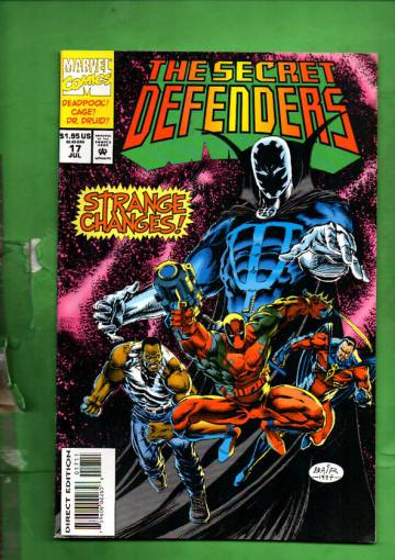 Secret Defenders Vol. 1 #17 Jul 94