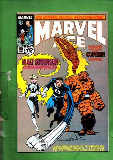 Marvel Age Vol. 1 #80 Nov 89