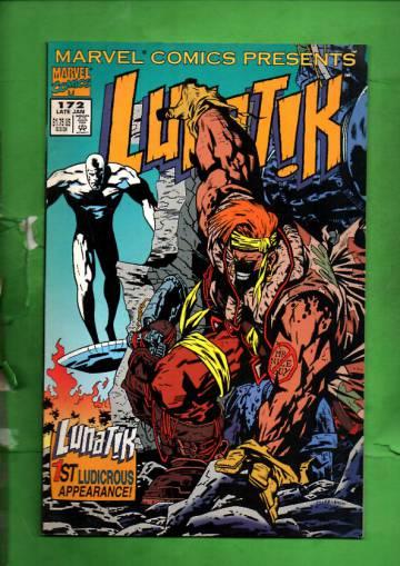 Marvel Comics Presents Vol. 1 #172 Late Jan 95