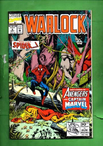 Warlock Vol. 2 #5 Sep 92