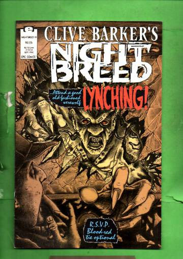 Clive Barker's Night Breed Vol.1 #19 Sep 92