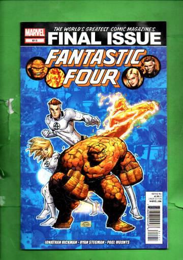 Fantastic four #611 Dec 12