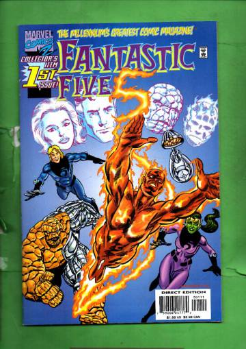 Fantastic Five Vol. 1 #1 Oct 99