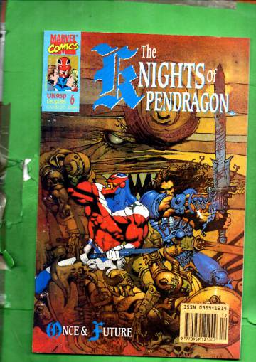 The Knights of Pendragon #6 Dec 90