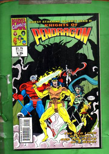 Knights of Pendragon #15 Sep 93