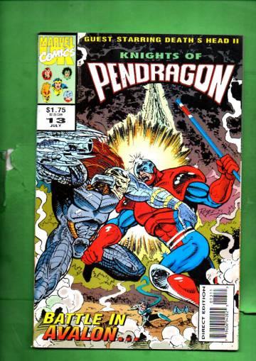 Knights of Pendragon #13 Jul 93