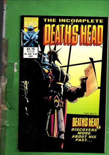 The Incomplete Death's Head Vol. 1 #6 Jun 93