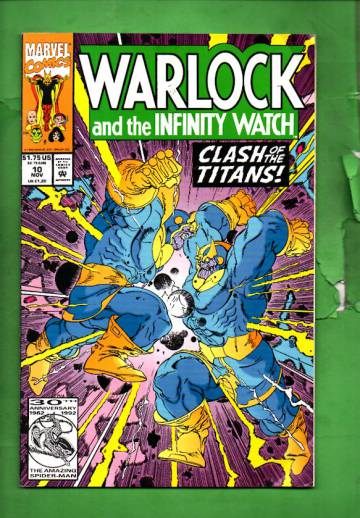 Warlock and the Infinity Watch Vol. 1 #10 Nov 92